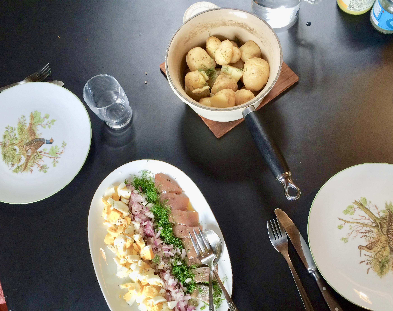 kartofler fra haven