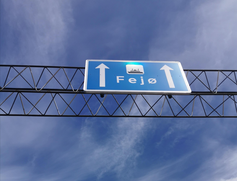 Færgen fra Kragenæs til Fejø.