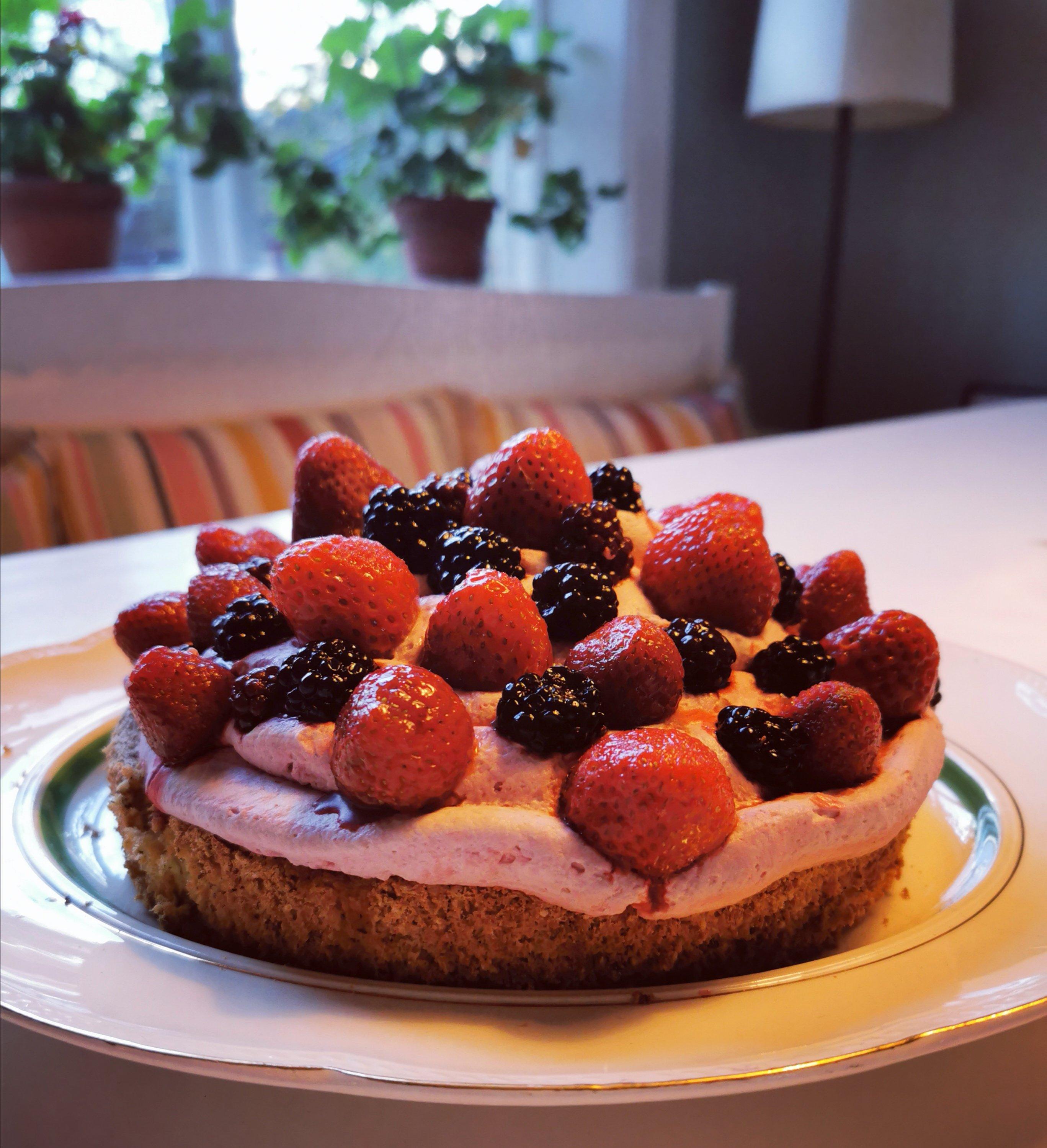 nem opskrift christianhavnertærte med bær
