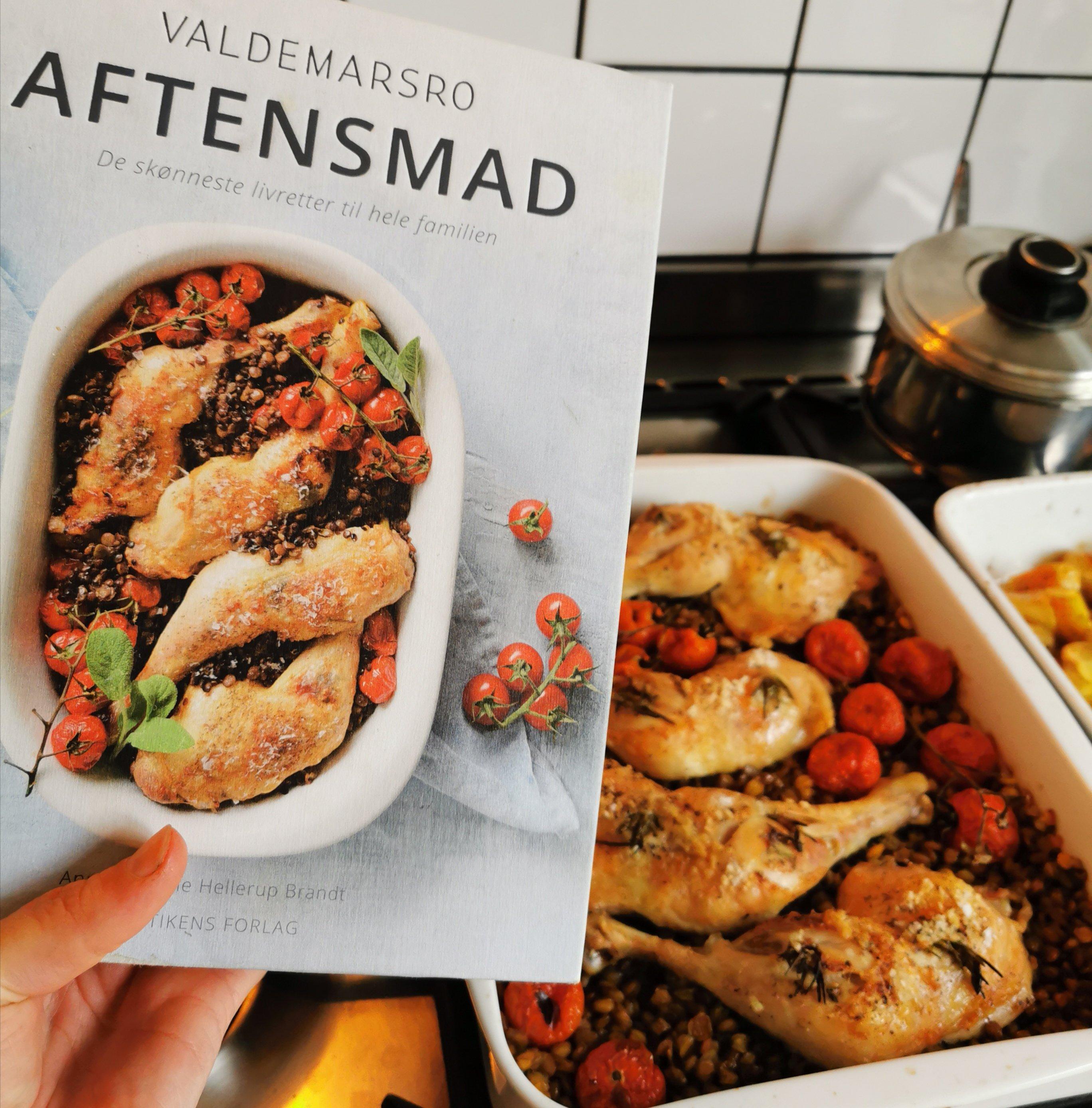 Valdemarsro hverdagsmad opskrifter kogebog kylling i ovn