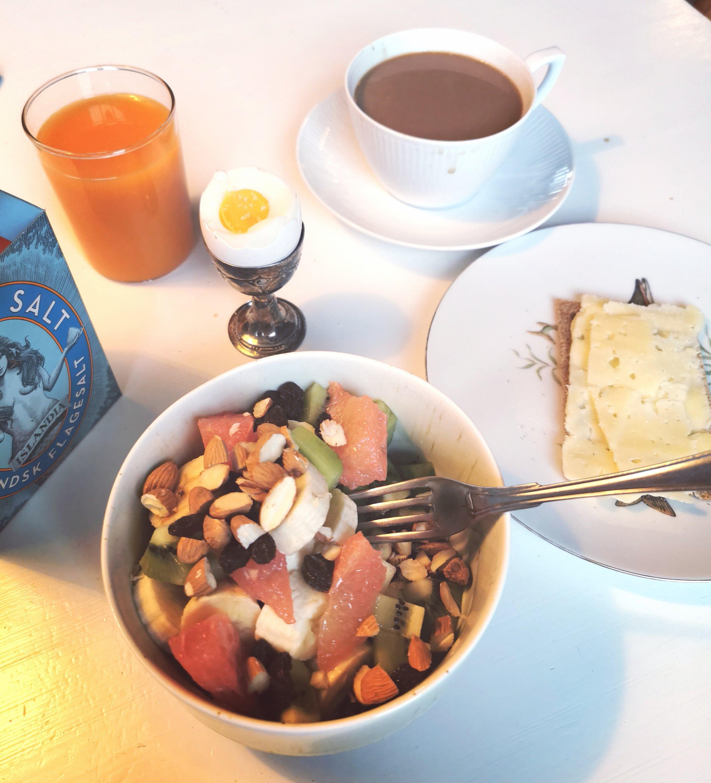 hotel morgen mad, lækker morgenmad, selvforkælelse