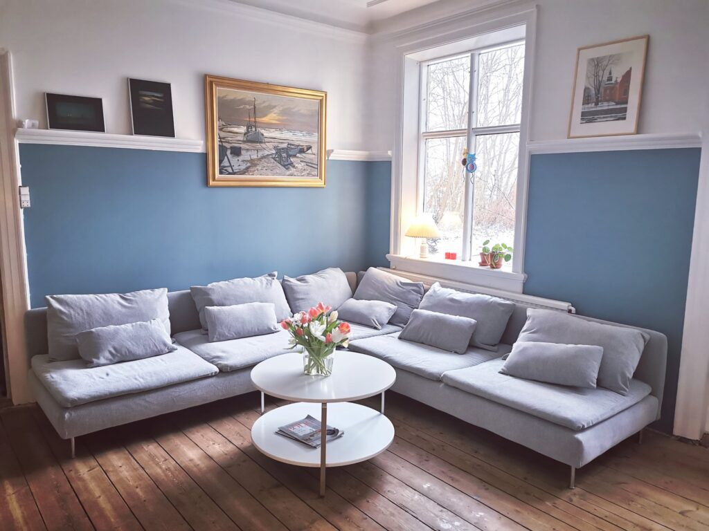 Nyt betræk ikea sofa söderhamn